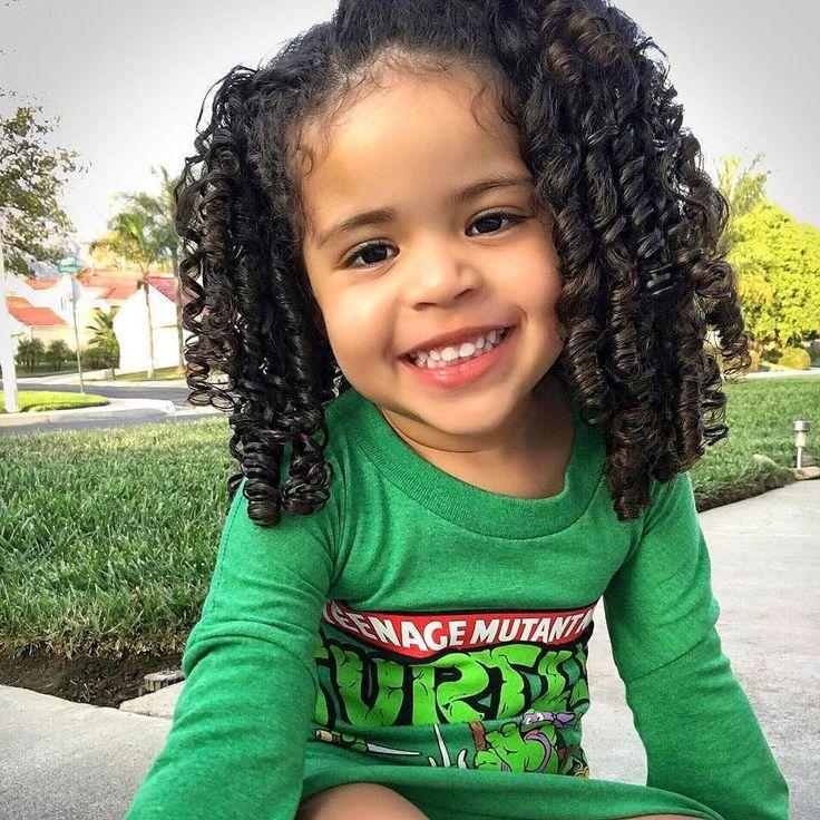 Cute mixed black girl 4