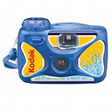 Waterproof Single Use Disposable Camera for those underwater adventures