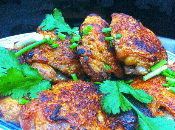 Recette poulet croustillant : Avec quoi accompagner ce poulet rôti. (Recette de la Réunion)