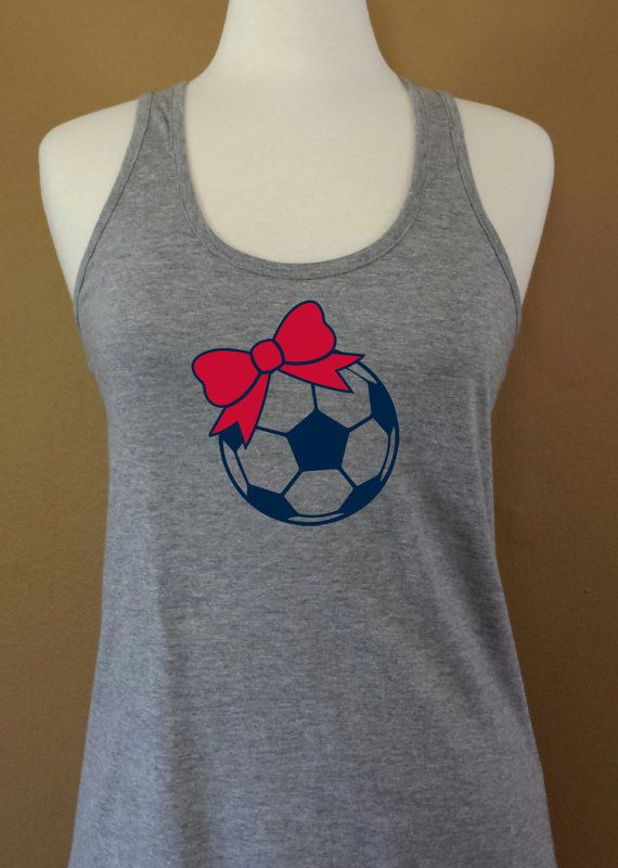 soccer mom USA soccer by MonkeyBrainTees on Etsy, $14.95