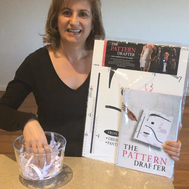 Congratulations to Marie Claire Ferrante winner of The Pattern Drafter