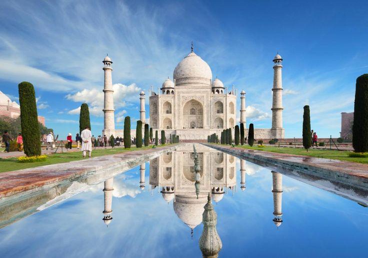 Taj Mahal behøver ingen introduktion! Og hvis du er i nærheden af Agra i Indien, så MÅ du se den smukke bygning!