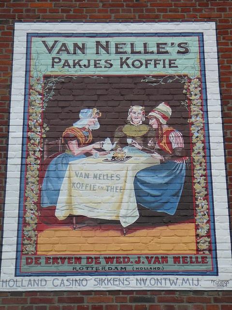 Van Nelle's Coffee Ad in Valkenburg