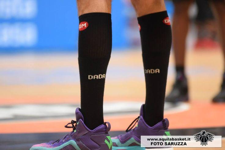Dada Pascolo, Aquila Basket Dolomiti Energia #CalzeGMteams #basket #socks More info: http://goo.gl/Woq2Yd