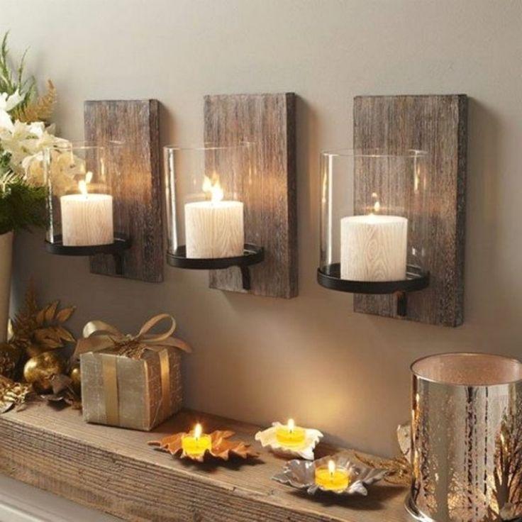 Wunderbare Holz Wanddekoration auf Ideen für Haus und Garten oder moderne Wohnzimmer Dekor