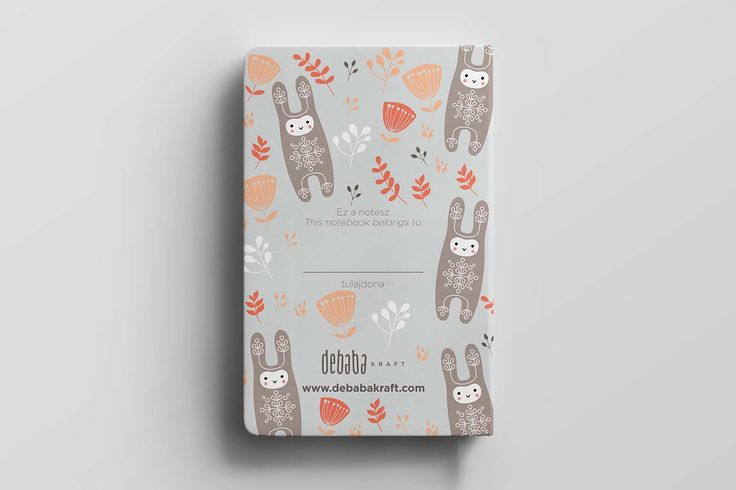 BUNNY/RABBIT pocket notebook, notes(z) #stationery #baby #kidsroom #bunny #rabbit #illustration #design #notebook #cute