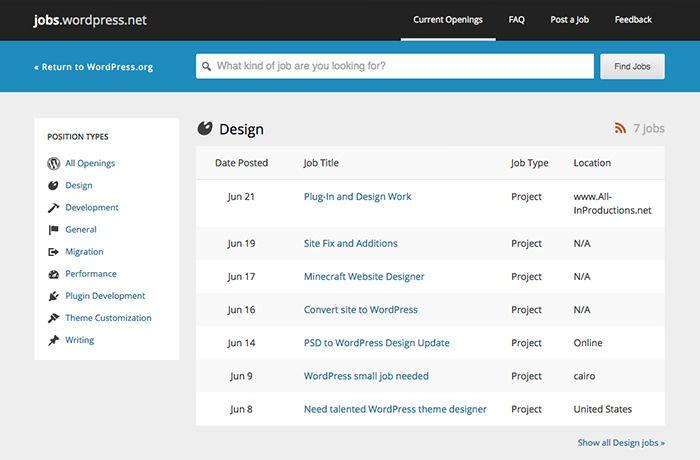 50 Best Job Sites For Freelancers And Independent Professionals Hongkiat Freelancer Website Freelancing Jobs Job Portal