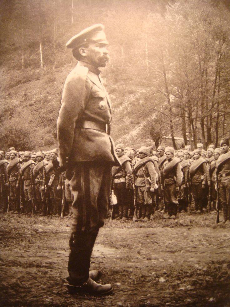 Kornilov and Cossacks.