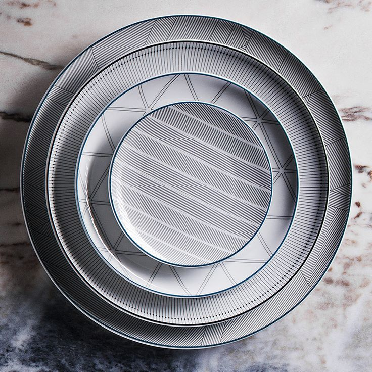 Orquestra porcelain tableware by david/nicolas for Vista Alegre | Flodeau