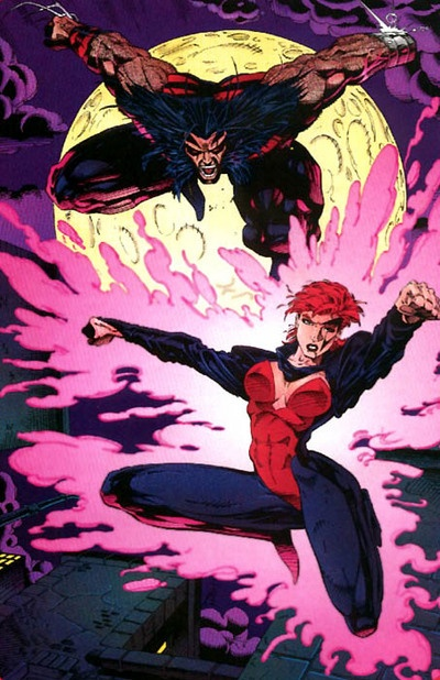 Age of Apocalypse - Wolverine and Jean Grey - artist?