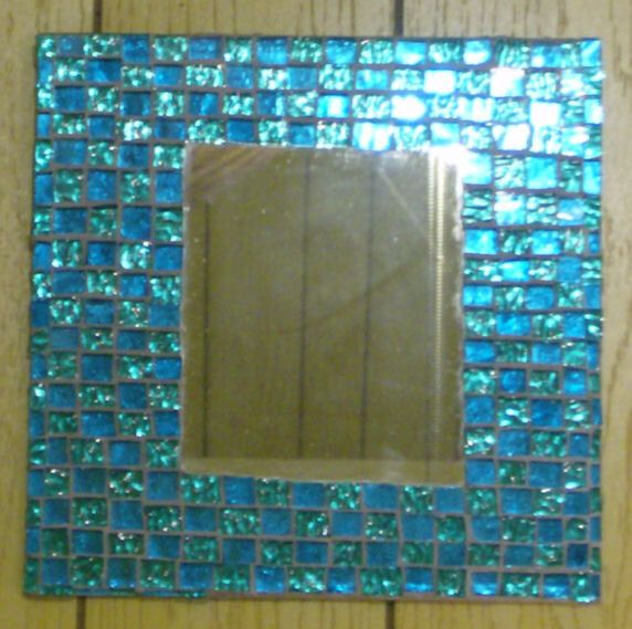 Stained Glass Mosaic Glass On Glass Wall Mirror Wall Decor Wall Hanging Home Decor Decorative Mirror by BlueMoonMosaics on Etsy https://www.etsy.com/listing/95947267/stained-glass-mosaic-glass-on-glass-wall