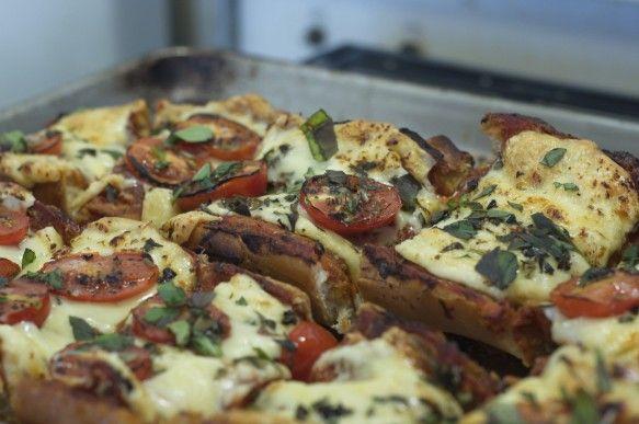 Weekend Pizza Bread