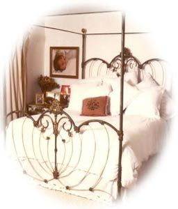 Cathouse iron beds. Malibu.. I have two of these beds and they are beautiful!!