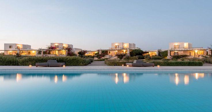 "Discover Villa ""Delphinia"", Paros Island, Greece ! You can rent it ! #luxury #villa #rent #holidays #greece #vacances #grece #alouer #aroomwithaview #sea #bedroom #decoration #swimmingpool #beautiful #sunset #luxuryvilla"
