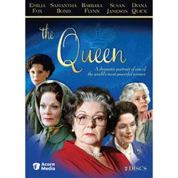 The Queen DVD  The Queen, Elizabeth Windsor, ascended the throne of the United Kingdom in 1952. The Queen DVD series will astound British Royal lovers with dramatized scenes behind palace doors, documentary footage and new interviews with royal insiders. Five top British actresses portray the Queen from 1955 to 2005: Emilia Fox (Silent Witness ), Samantha Bond (GoldenEye ), Susan Jameson (New Tricks ), Barbara Flynn (Cracker ) and Diana Quick (Brideshead Revisited ). Groundbreaking and…