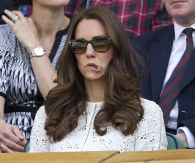 The Duchess of Cambridge watched Andy Murray play Grigor Dimitrov on Wimbledon's Centre Court