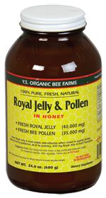 """read in a forum: taking Royal Jelly & Bee Pollen per the book : The Infertility Cure: How Nutrition Makes a Difference. first month did the follie count on 100mg Clomid;had 7. The month before (same amount of Clomid;had 1-2 follies).been told by two RE's I have """"poor egg quality, low ovarian reserve, poor stimmer, etc"""" usually have high E2 and FSH on CD3. last cycle my CD3 bloodwork was normal. never received a normal in 3+ years of IF.optimal result take 3 months.actually got a BFP."""