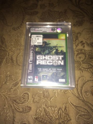 VGA GRADED XBOX 1 Tom Clancy's Ghost Recon XBOX Video Game System NEW: $150.00 End Date: Saturday Apr-7-2018 12:21:47 PDT Buy It Now for…