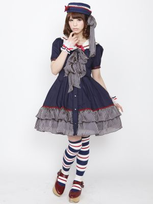 Marine Sailor Onepiece Dress (brand: Alice and the Pirates)
