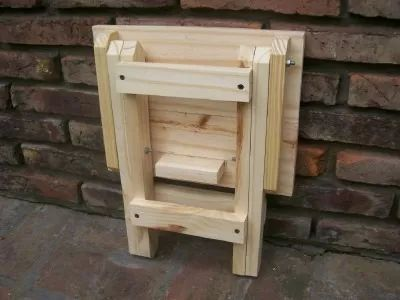 1000 ideas about mesas plegables de madera on pinterest for Banqueta escalera plegable