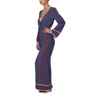 Baikal Onesie from Tigerlily, cool bohemian onsie, flared cuffs and hems, contrasting prints