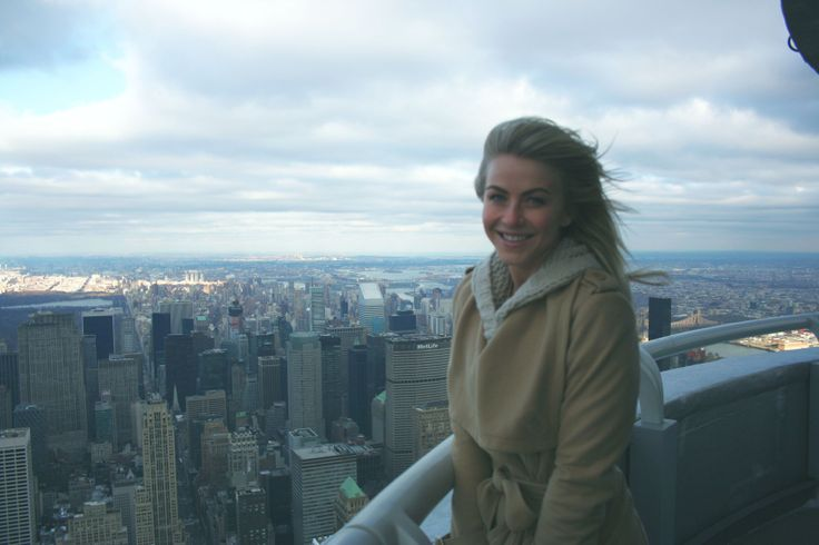 January 18 2014 actress and dancing with the stars for 103rd floor empire state building