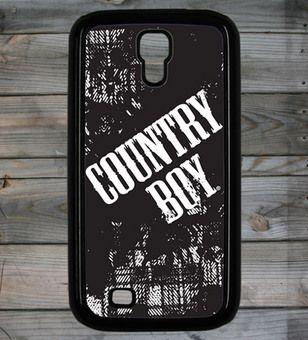 Country Boy ® Logo Galaxy S4 Phone Case/Cover #Samsung #Galaxy #