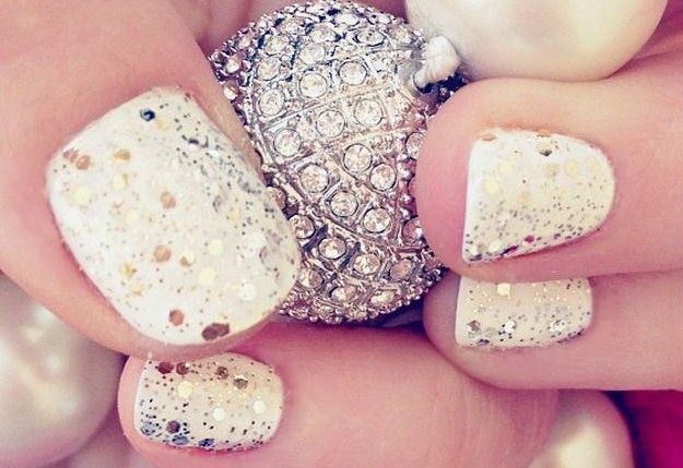 10 DIY New Years Nails | New Year Nails Art Design Ideas
