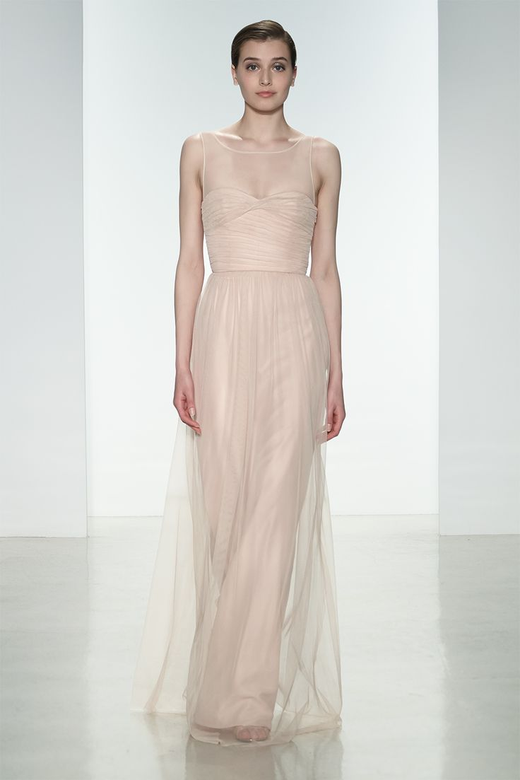 27 best spring 2015 bridesmaid dresses images on pinterest amsale bridesmaids dress g856u in blush tulle ombrellifo Gallery