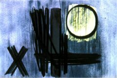 Hans Hartung, Painting, 1951, oil o/canvas