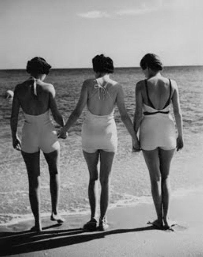 Bellezze al bagno nel 1930