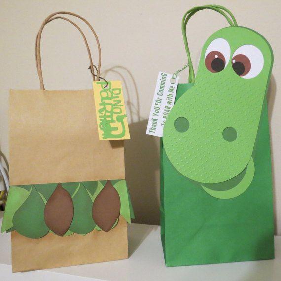 Goody inspirado buen dinosaurio bolsas de 8 por LoluParty en Etsy