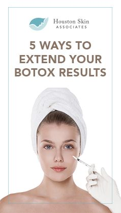 5 Ways to Extend Your Botox Results #botox