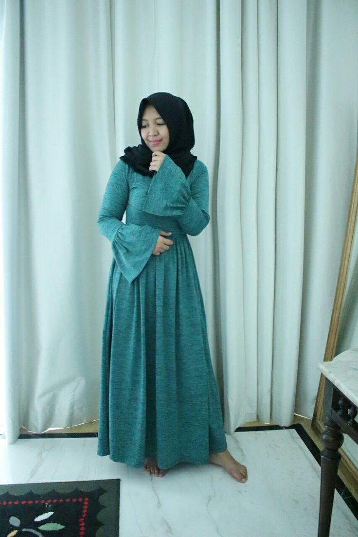 Hijab ootd Maxy Dresses