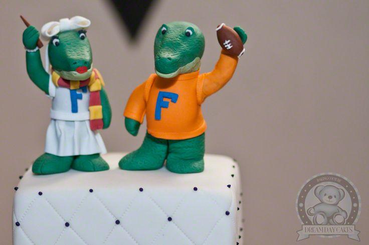 Florida Gator Birthday Cake Toppers