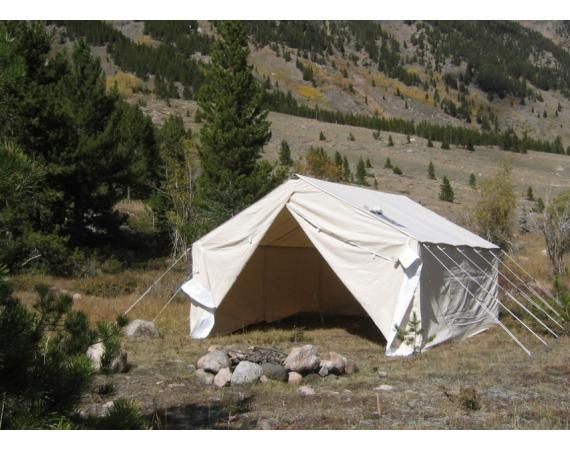 17 best ideas about canvas wall tent on pinterest wall for Homemade wall tent frame