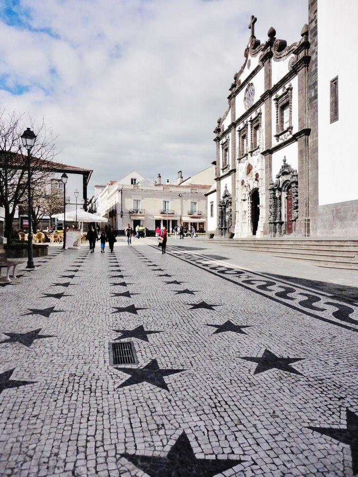 Ponta Delgada, Sao Miguel, Azores, Portugal                              …