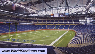 Ford Field Stadium in Detroit