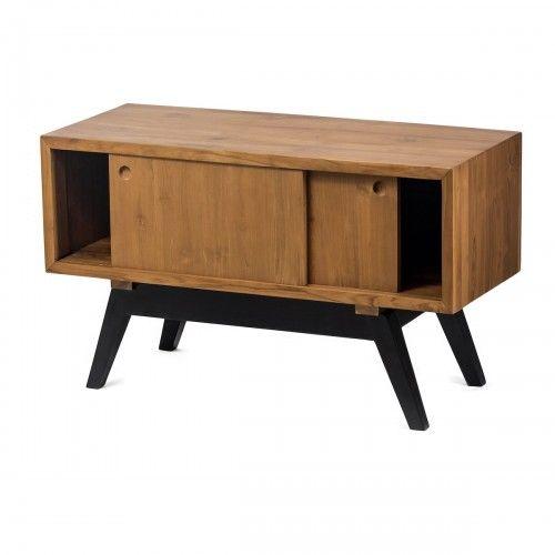 Tamata   meja kabinet kayu jati dekor interior skandinavia rumah hotel tv console stand furniture design