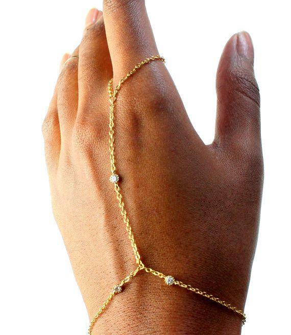 corrente de mão pulseira dedo escravo pulseiras pulseiras