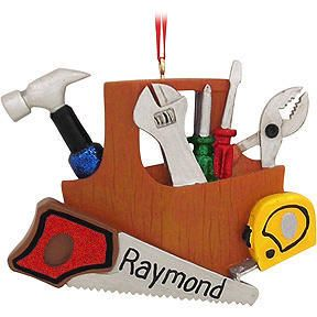 Personalized Handyman Tools Ornament It S Christmas Time