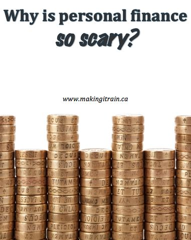 Why is personal finance so scary?