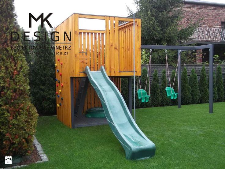 Nowoczesny plac zabaw - zdjęcie od MK DESIGN Projektowanie Wnętrz