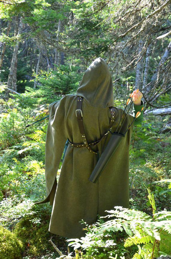 Archery Cloak for Rangers, Elves, Robin Hood, foresters, Ranger's Apprentice…
