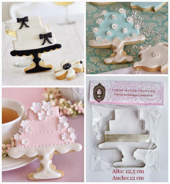 Cake Stand Cookie Cutter By Patricia Arribalzaga