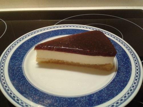 Tarta de yogur y frambuesa para #Mycook http://www.mycook.es/receta/tarta-de-yogur-y-frambuesa/