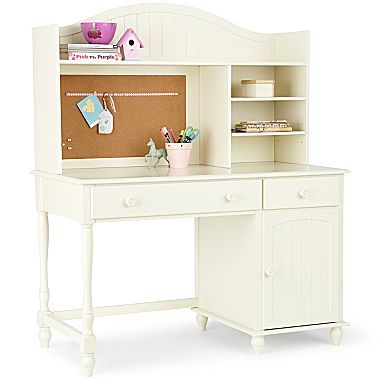 $600 Desk, McKenna with Hutch - jcpenney
