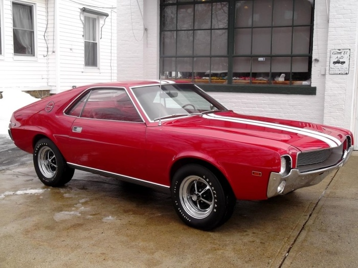 Amx 390 American Muscle Hot Rod Pinterest Cars