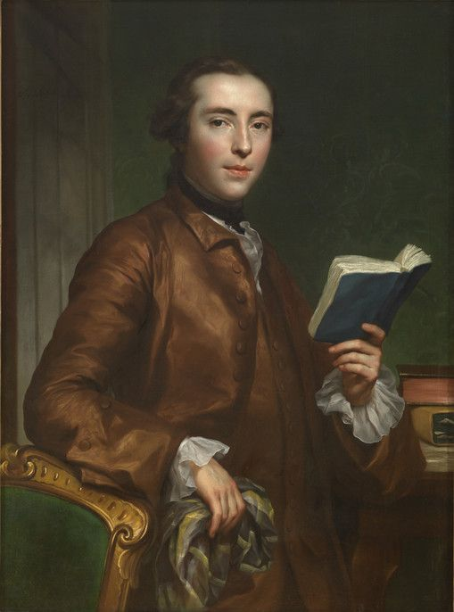 Portrait of an English Gentleman Anton Raphael Mengs German, 1728-1779 Portrait of an English Gentleman, ca. 1754 Oil on canvas 57.281
