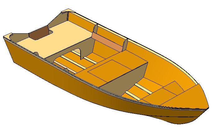 Сшей и склей лодка из фанеры